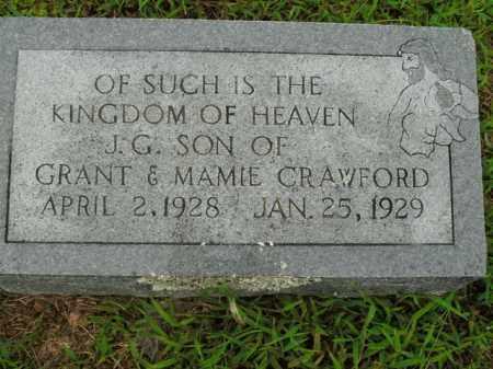 CRAWFORD, J.G. - Boone County, Arkansas | J.G. CRAWFORD - Arkansas Gravestone Photos