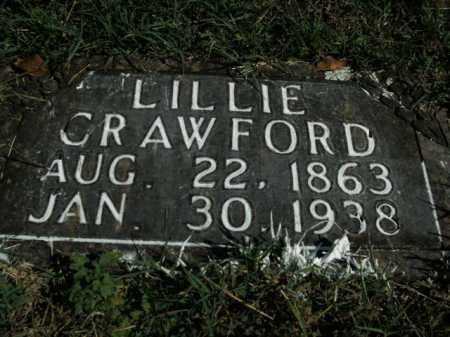 CRAWFORD, LILLIE - Boone County, Arkansas | LILLIE CRAWFORD - Arkansas Gravestone Photos