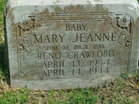 CRAWFORD, MARY JEANNE - Boone County, Arkansas | MARY JEANNE CRAWFORD - Arkansas Gravestone Photos