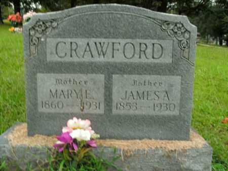 CRAWFORD, JAMES A. - Boone County, Arkansas   JAMES A. CRAWFORD - Arkansas Gravestone Photos