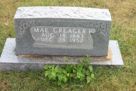 CREAGER, MAE - Boone County, Arkansas | MAE CREAGER - Arkansas Gravestone Photos