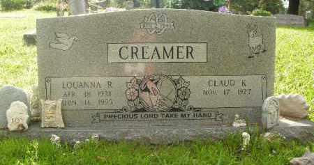 CREAMER, LOUANNA R. - Boone County, Arkansas | LOUANNA R. CREAMER - Arkansas Gravestone Photos