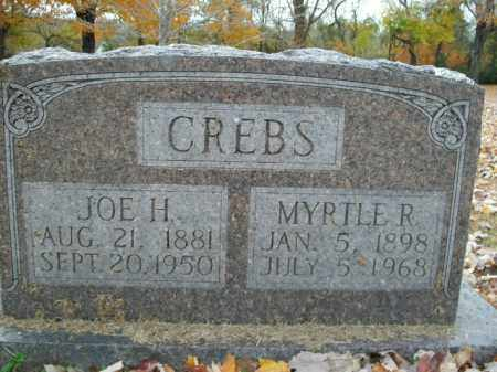 CREBS, MYRTLE R. - Boone County, Arkansas | MYRTLE R. CREBS - Arkansas Gravestone Photos