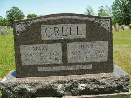 CREEL, MARY ANN - Boone County, Arkansas | MARY ANN CREEL - Arkansas Gravestone Photos