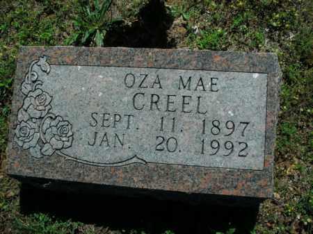 CREEL, OZA MAE - Boone County, Arkansas   OZA MAE CREEL - Arkansas Gravestone Photos
