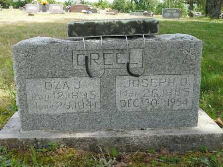 CREEL, OZA J. - Boone County, Arkansas | OZA J. CREEL - Arkansas Gravestone Photos
