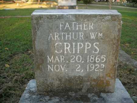 CRIPPS, ARTHUR WILLIAM - Boone County, Arkansas | ARTHUR WILLIAM CRIPPS - Arkansas Gravestone Photos