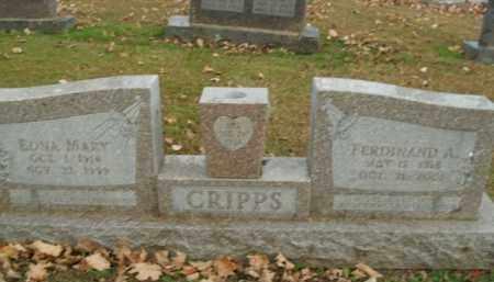CRIPPS, FERDINAND A. - Boone County, Arkansas | FERDINAND A. CRIPPS - Arkansas Gravestone Photos