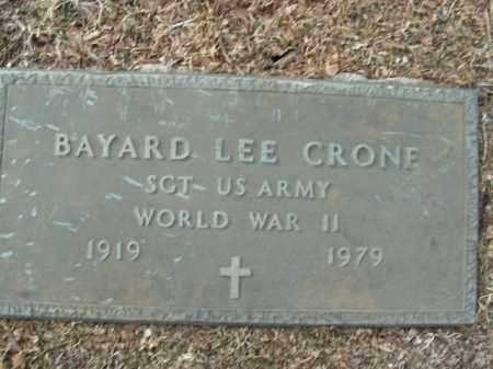 CRONE  (VETERAN WWII), BAYARD LEE - Boone County, Arkansas | BAYARD LEE CRONE  (VETERAN WWII) - Arkansas Gravestone Photos