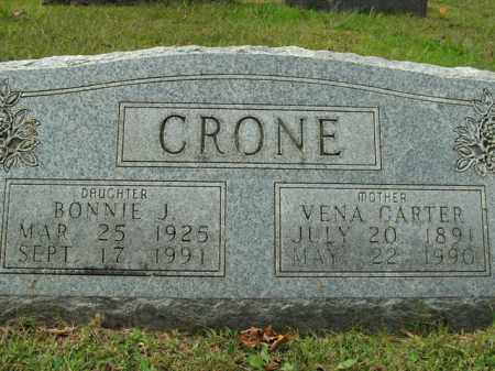 CARTER CRONE, VENA - Boone County, Arkansas | VENA CARTER CRONE - Arkansas Gravestone Photos