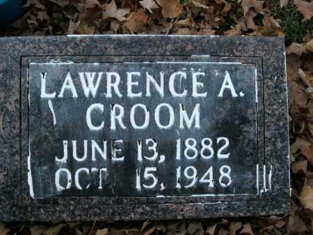 CROOM, LAWRENCE A. - Boone County, Arkansas | LAWRENCE A. CROOM - Arkansas Gravestone Photos