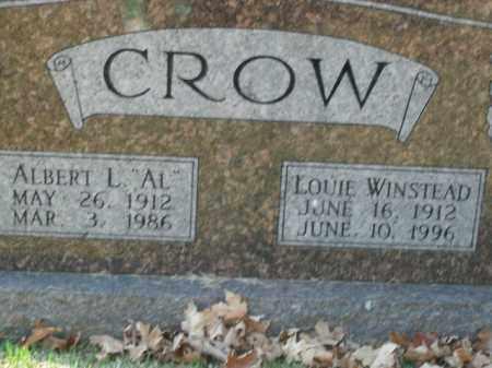 CROW, LOUIE WINSTEAD - Boone County, Arkansas | LOUIE WINSTEAD CROW - Arkansas Gravestone Photos