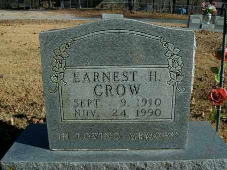 CROW, ERNEST H. - Boone County, Arkansas | ERNEST H. CROW - Arkansas Gravestone Photos