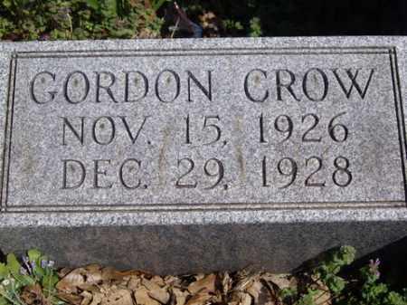 CROW, GORDON - Boone County, Arkansas   GORDON CROW - Arkansas Gravestone Photos