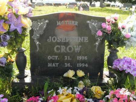 CROW, JOSEPHINE - Boone County, Arkansas   JOSEPHINE CROW - Arkansas Gravestone Photos