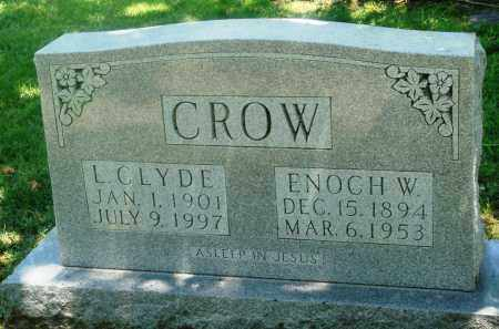 CROW, L. CLYDE - Boone County, Arkansas | L. CLYDE CROW - Arkansas Gravestone Photos