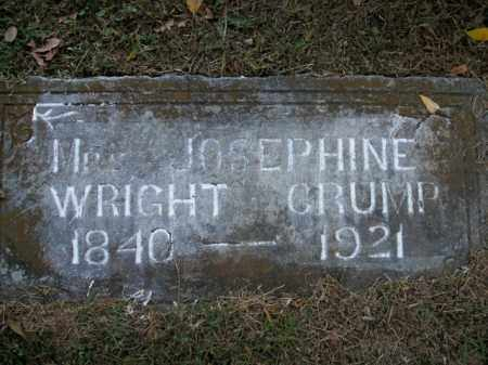 CRUMP, JOSEPHINE - Boone County, Arkansas | JOSEPHINE CRUMP - Arkansas Gravestone Photos