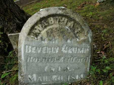 CRUMP, MARTHA F. - Boone County, Arkansas | MARTHA F. CRUMP - Arkansas Gravestone Photos