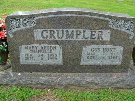 CHAPPELLE CRUMPLER, MARY AFTON - Boone County, Arkansas | MARY AFTON CHAPPELLE CRUMPLER - Arkansas Gravestone Photos