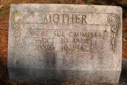 CRUMPLER, PHEBE SUE - Boone County, Arkansas   PHEBE SUE CRUMPLER - Arkansas Gravestone Photos