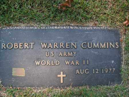 CUMMINS  (VETERAN WWII), ROBERT WARREN - Boone County, Arkansas | ROBERT WARREN CUMMINS  (VETERAN WWII) - Arkansas Gravestone Photos