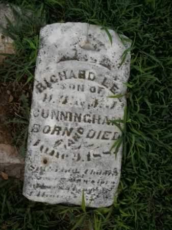 CUNNINGHAM, RICHARD LEE - Boone County, Arkansas | RICHARD LEE CUNNINGHAM - Arkansas Gravestone Photos
