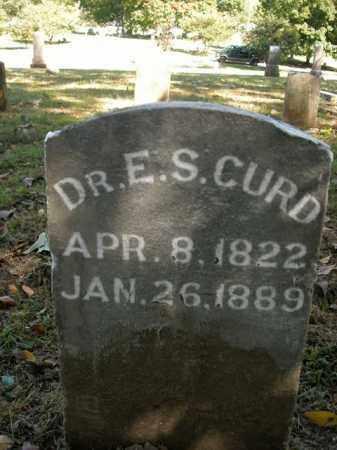 CURD, DR. E.S. - Boone County, Arkansas | DR. E.S. CURD - Arkansas Gravestone Photos