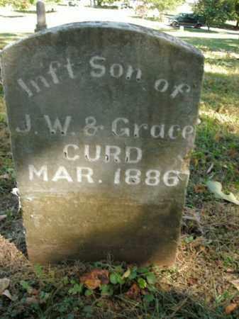 CURD, INFANT SON - Boone County, Arkansas | INFANT SON CURD - Arkansas Gravestone Photos