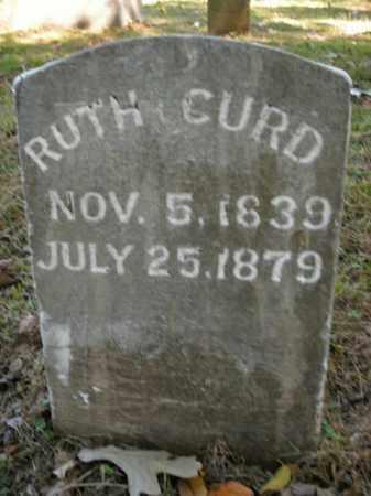 CURD, RUTH - Boone County, Arkansas | RUTH CURD - Arkansas Gravestone Photos