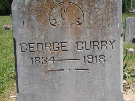 CURRY, GEORGE - Boone County, Arkansas | GEORGE CURRY - Arkansas Gravestone Photos