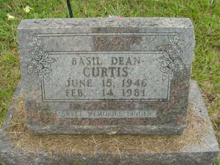 CURTIS, BASIL DEAN - Boone County, Arkansas   BASIL DEAN CURTIS - Arkansas Gravestone Photos