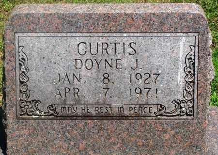 CURTIS, DOYNE J - Boone County, Arkansas | DOYNE J CURTIS - Arkansas Gravestone Photos