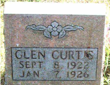 CURTIS, GLEN - Boone County, Arkansas | GLEN CURTIS - Arkansas Gravestone Photos