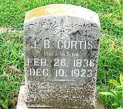 CURTIS, J. B.. - Boone County, Arkansas   J. B.. CURTIS - Arkansas Gravestone Photos