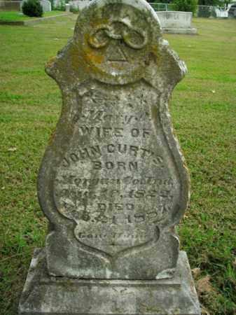 CURTIS, MARY - Boone County, Arkansas   MARY CURTIS - Arkansas Gravestone Photos