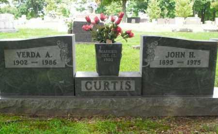 CURTIS, JOHN HENRY - Boone County, Arkansas   JOHN HENRY CURTIS - Arkansas Gravestone Photos