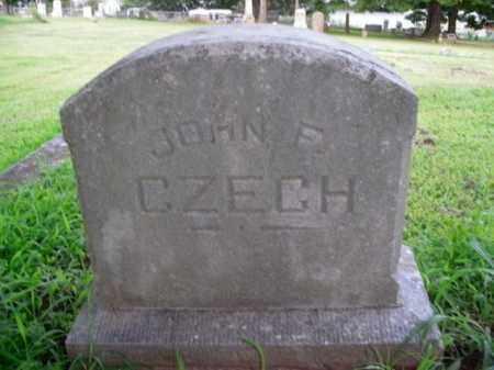 CZECH, JOHN F. - Boone County, Arkansas | JOHN F. CZECH - Arkansas Gravestone Photos