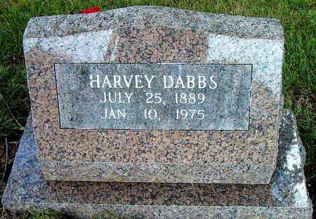 DABBS, HARVEY - Boone County, Arkansas | HARVEY DABBS - Arkansas Gravestone Photos