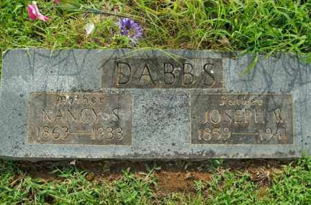 DABBS, JOSEPH W. - Boone County, Arkansas | JOSEPH W. DABBS - Arkansas Gravestone Photos