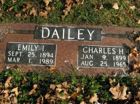 DAILEY, EMILY I. - Boone County, Arkansas | EMILY I. DAILEY - Arkansas Gravestone Photos