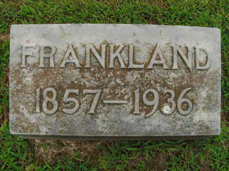 BOWER, FRANKLAND - Boone County, Arkansas | FRANKLAND BOWER - Arkansas Gravestone Photos