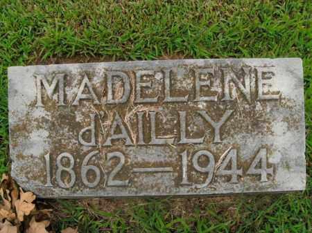 D'AILLY, MADELENE - Boone County, Arkansas | MADELENE D'AILLY - Arkansas Gravestone Photos