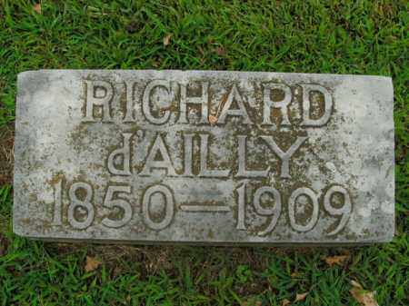 D'AILLY, RICHARD - Boone County, Arkansas | RICHARD D'AILLY - Arkansas Gravestone Photos