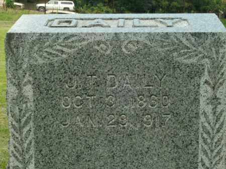 DAILY, J.T. - Boone County, Arkansas | J.T. DAILY - Arkansas Gravestone Photos