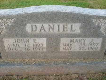 DANIEL, MARY J. - Boone County, Arkansas | MARY J. DANIEL - Arkansas Gravestone Photos