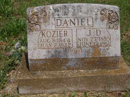 DANIEL, KOZIER - Boone County, Arkansas | KOZIER DANIEL - Arkansas Gravestone Photos