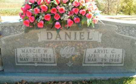 DANIEL, MARGIE W. - Boone County, Arkansas | MARGIE W. DANIEL - Arkansas Gravestone Photos