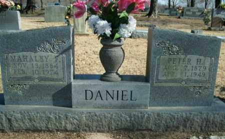 DANIEL, MAHALEY F. - Boone County, Arkansas | MAHALEY F. DANIEL - Arkansas Gravestone Photos
