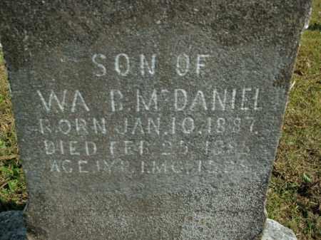 MCDANIEL, SON - Boone County, Arkansas   SON MCDANIEL - Arkansas Gravestone Photos