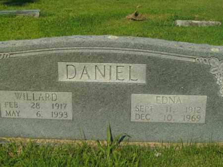 DANIEL, WILLARD - Boone County, Arkansas | WILLARD DANIEL - Arkansas Gravestone Photos